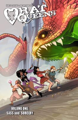 Rat Queens: Vol. 1, Sass and Sorcery / Kurtis J. Wiebe ; artist, Roc Upchurch