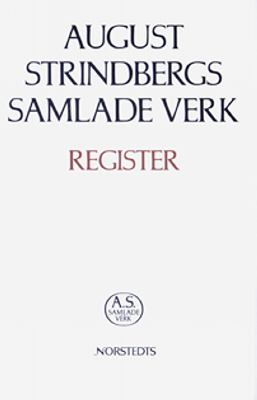 August Strindbergs samlade verk - register