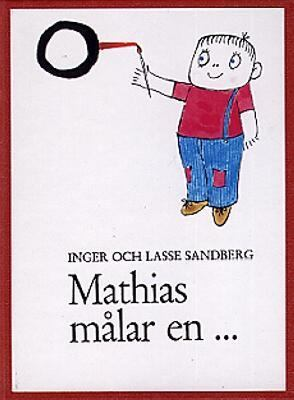 Mathias målar en-